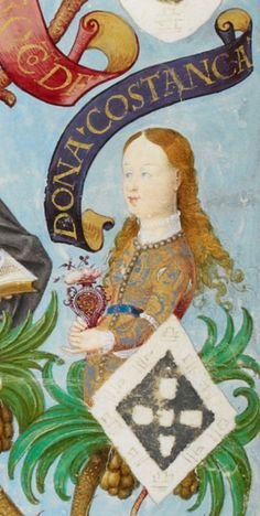 The Infanta Constança of Portugal (1266-1271). She was a daughter of King Afonso III and his 2nd wife, Beatriz of Castile-León. She never married or had children.