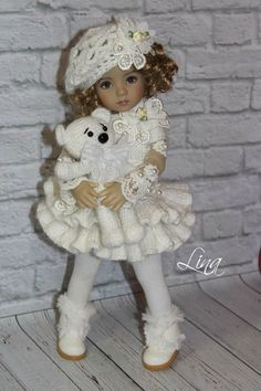 "Lina Lerua OUTFIT FOR DOLLS 13"" Dianna Effner Little Darling"