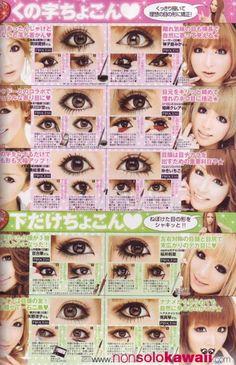 Hello Pretti Hito: Japanese Koakuma Ageha Makeup Tut?