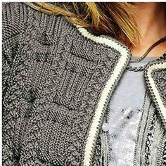 gilet au tricot : je vous propose ce très beau gilet qui est un modèle bergère de France, vous trouverez toutes les explications pour le réaliser
