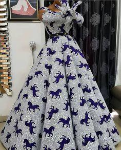 100 Latest Ankara Styles In Vogue For Smart Ladies/Women African Wedding Dress, African Fashion Ankara, Latest African Fashion Dresses, African Dresses For Women, African Print Fashion, African Attire, Latest Ankara Styles, African Print Dress Designs, Ankara Stil