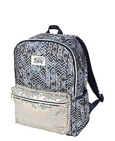 Justice is your one-stop-shop for on-trend styles in tween girls clothing & accessories. Shop our Denim Geo Backpack. Cute Girl Backpacks, Aztec Backpacks, Justice Backpacks, School Backpacks, Girls Fall Outfits, Teenager Outfits, Cute Outfits For Kids, Teenager Fashion, Dresses For Tweens