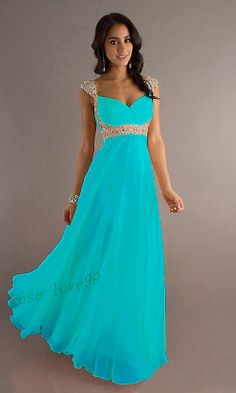 New Chiffon Evening Formal Party Ball Gown Prom Bridesmaid 8 10 12 14 16 Prom Dresses Under 100, Formal Dresses With Sleeves, Dresses For Tweens, Cheap Prom Dresses, Nice Dresses, Dress Formal, Formal Prom, Bridesmaid Dresses Uk, Royal Blue Prom Dresses