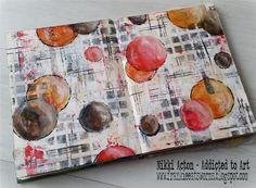 Craft, cards, mixed media and altered art. Tim holtz lover and crazy crafter. Art Journal Pages, Art Pages, Art Journals, Collages, Collage Art, Art Doodle, Altered Book Art, Mixed Media Journal, Circle Art
