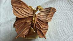 Farfalla in legno