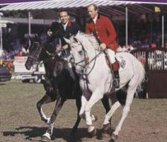 Milton and Jappeloup, John Whitaker and Pierre Durant.