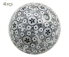 Jogo de Esferas Decorativas Benne