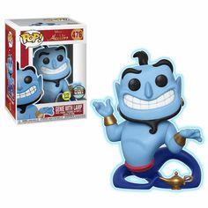 Aladdin - Genie with Lamp (Glow in the Dark) Vinyl Figure Specialty Series Pop! Disney: Aladdin - Genie with Lamp (Glow) Genie with Lamp Pop! Disney Pop, Aladin Disney, Genie Aladdin, Disney Animation, Animation Film, Lemmy Kilmister, Dark Pop, Disney Animated Films, Pop Dolls