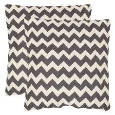 Safavieh 2 Pack Striped Tealea Pillow