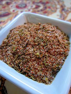 DIY Cajun Seasoning  5 teaspoons paprika   4 teaspoons fine sea salt   4 teaspoon garlic powder   4 teaspoons onion powder   2 tsp ground black pepper   1 tsp cayenne pepper (original recipe used 1/2 tsp)  2 tsp dried oregano   2 teaspoons dried thyme     Combine all spices together and enjoy!
