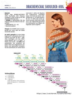 Crochet Triangle, C2c Crochet, Crochet Diagram, Crochet Stitches, Crochet Patterns, Crochet Shawls And Wraps, Knitted Shawls, Crochet Scarves, Crochet Hats
