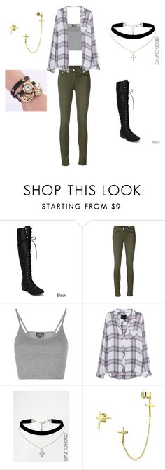 """Untitled #58"" by brie-sadler on Polyvore featuring rag & bone/JEAN, Topshop, Rails, ASOS and Bling Jewelry"