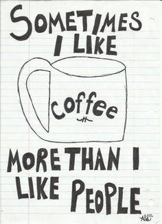 Haha...Coffee ♥