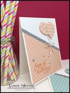#birthday #Card #Diy #Festive #Festively #ideas Simple Birthday Cards, Homemade Birthday Cards, Bday Cards, Homemade Cards, Card Ideas Birthday, Birthday Cards To Make, Happy Birthday Card Diy, Scrapbook Birthday Cards, Cricut Birthday Cards