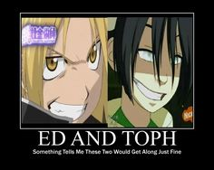 Ed and Toph!