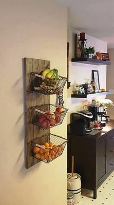 Smart 30 DIY Kitchen Storage Solutions For Your Small Kitchen Treatment Projects Care Design home decor Diy Kitchen Shelves, Small Kitchen Organization, Kitchen Storage Solutions, Kitchen Ideas, Bathroom Organization, Kitchen Hacks, Kitchen Craft, Organizing Life, Corner Shelves