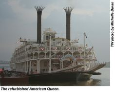 Mississippi river cruising...