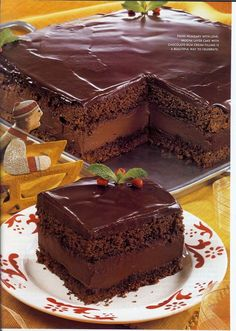 Rigo Jancsi - the Hungarian Rhapsody of chocolate cakes