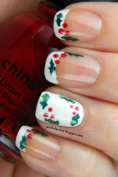 Pinked Polish: On the 7th and 8th days of Christmas...