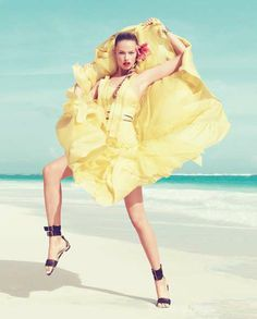 Harper's Bazaar March 2012 starring Hailey Clauson