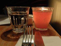 Blood Orange & Campari Bellini :: Great Queen Street