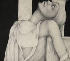Alessandro De Michele, Retorica del sonno, matita e china su cartoncino, 150X80 cm ale_demichele@yahoo.it