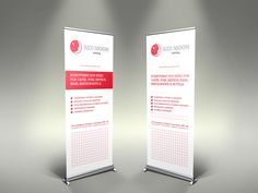 Roller banners for Clitheroe Food Festival
