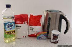 No Cook Playdough Recipe...made in 5 minutes! -