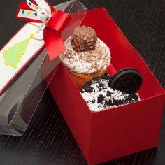 Caja de cupcakes de 2 unidades