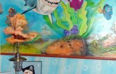 mar 31 Mural infantill de nemo