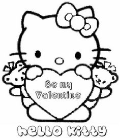 valentines day coloring sheet