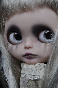 OOAK Lawdeda Halloween Gothic Horror Custom RBL Blythe ~ Millicent