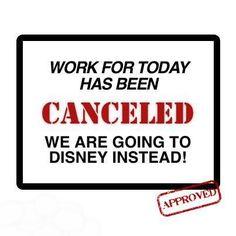 Walt Disney World or bust!