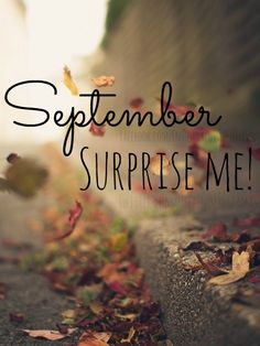 September does like to Surprise Us! I guess it has a little extra magic & HIS Timing :)  Sept. 2008 ~ Fate  Sept. 2009 ~ Engaged Sept. 2010 ~ God's 1st Blessing  Sept. 2013 ~ God's 2nd Blessing We wonder what Sept. 2014 will bring Us?!? ;)