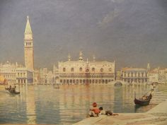 Venice, by William Logsdail (19th Century)