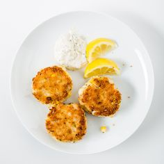 A less expensive, equally delicious option for anyone who loves a crab cake. Could you put it on a bun? Why not?