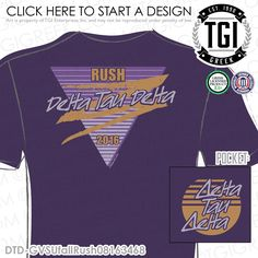 TGI Greek - Delta Tau Delta - Recruitment - Greek Apparel #tgigreek #deltataudelta