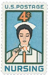 Absolutely love this 1961 US postage stamp