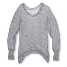 Sharkbite Hem Sweater - Xhilaration�
