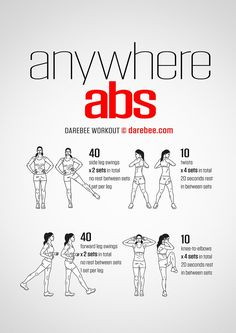 Anywhere Abs Workout