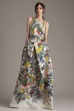 Vestidos de festa com estampados florais para 2016: vai adorar!