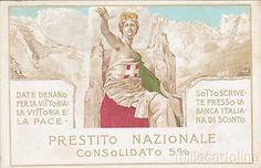 ITALY WWI - Propaganda - National Loan - Mataloni.