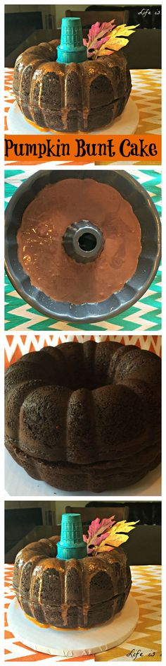 Pumpkin Bunt Cake Recipe and How to!