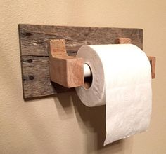 Rustic Wood Pallet Furniture Toilet Paper Holder Reclaimed Wood Bathroom Furniture Rustic Home Decor