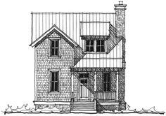 Seaside Lookout House Plan (C0347) Design from Allison Ramsey Architects  #FloorPlans #Design