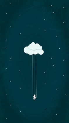 A little child in the sky
