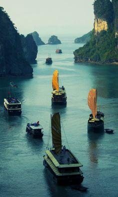Sailing Away…, Vietnam