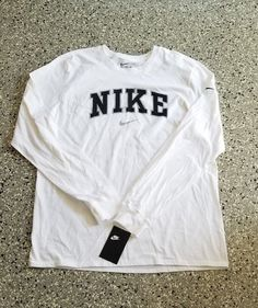 3c1bba00f 25.99 | New Nike Mens Graphic Long Sleeve Cotton T-Shirt Tee Size: