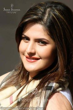 Zarine Khan (born 14 May is an Indian actress and model who appears in Indian films, mainly in the Hindi film industry, though has also appeared in Tamil and Punjabi films Beauty Full Girl, Real Beauty, Beauty Women, Indian Bollywood, Bollywood Fashion, Beautiful Indian Actress, Beautiful Actresses, Bollywood Celebrities, Bollywood Actress