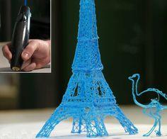 3Doodler - 3D Printing Pen   DudeIWantThat.com